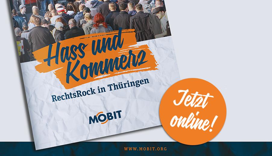 rechtsRock-Broschüre Hass & Kommerz