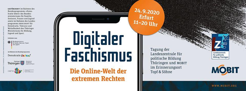 Header_Tagung Digitaler Faschismus